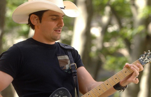 Brad Paisley's joining his wife on Nashville