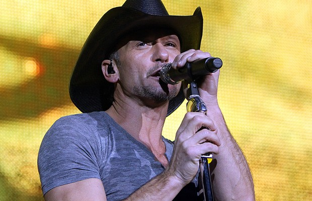 WIXY welcomes Tim McGraw
