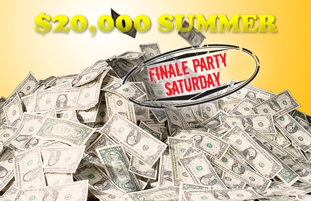 WIXY's $20,000 Summer Finale
