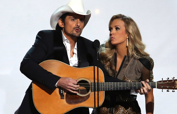 Brad and Carrie duet